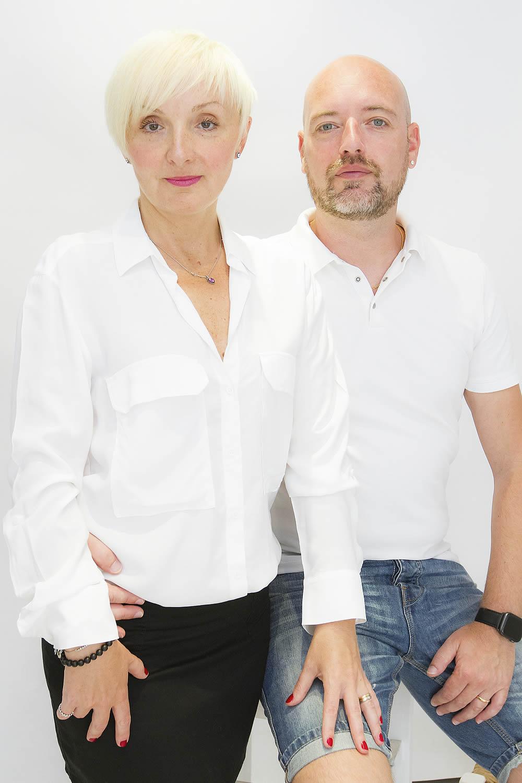 Laryssa y Michel, fundadores y propietarios de la Agencia Ibiza Royal Agency